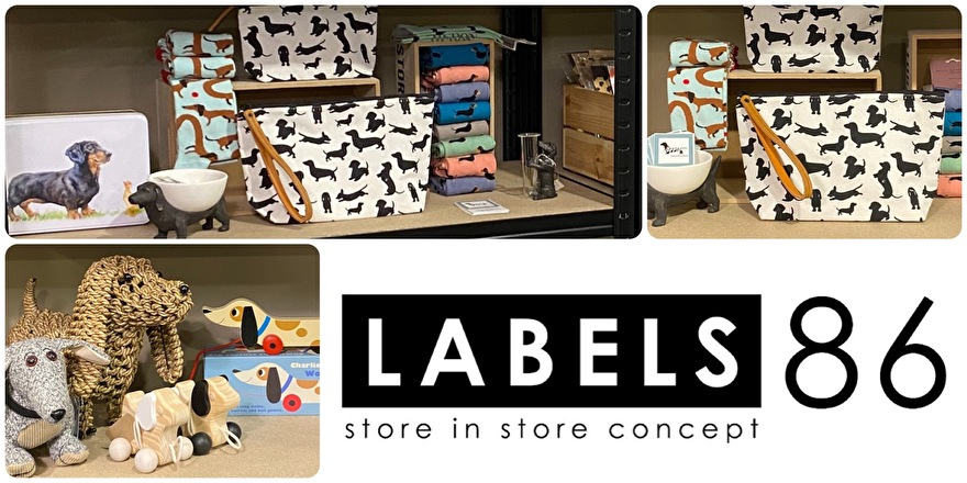 Jeppieteckel shop in shop Labels 86 Barneveld
