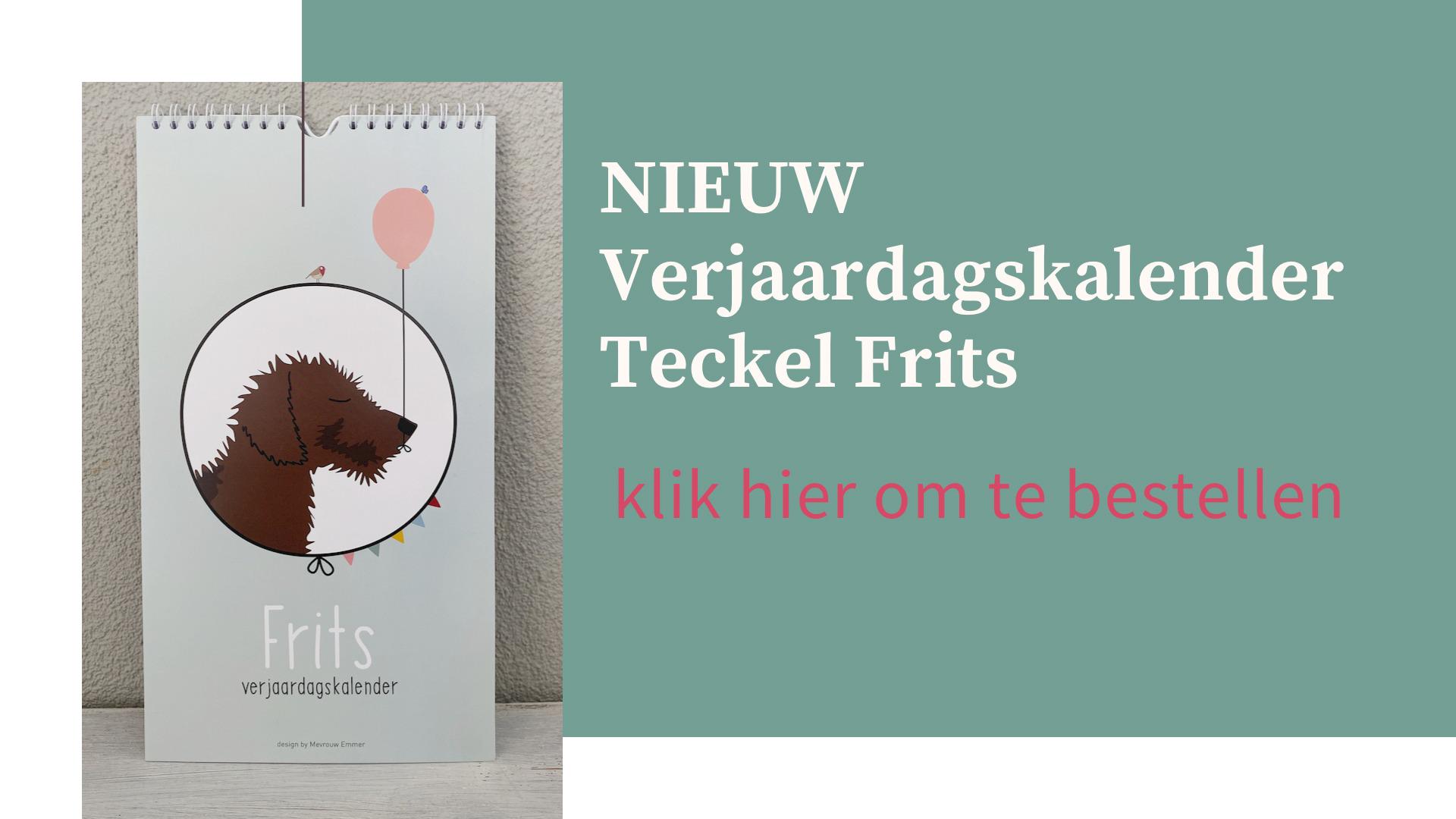 Teckel Frits Verjaardagskalender