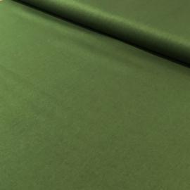 Forrest green katoen popeline