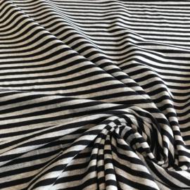Streepje zwart/grijs