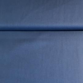 Airforce blauw katoen popeline