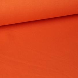 Zware sweaterstof Ellis/Lexi uni oranje