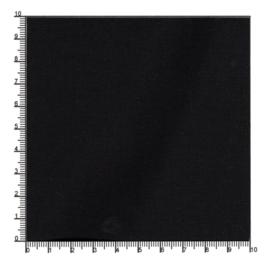 Polyester katoenmix zwart