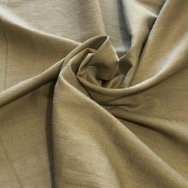 100% gewassen linnen - taupe