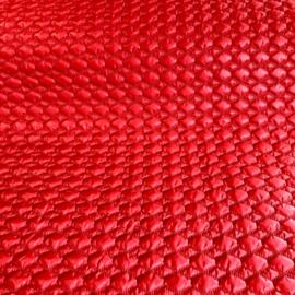 Gequilte matelasse rood