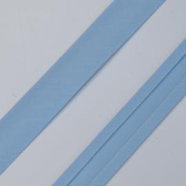 Bias lint 16 mm. licht blauw