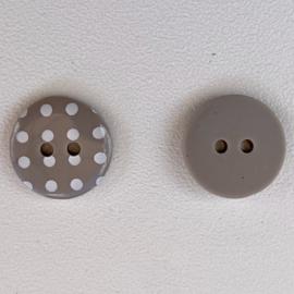 Polka dot mocha maat 24/15,5mm