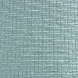 Dubbel gelaagde tricot ruitje oud blauw