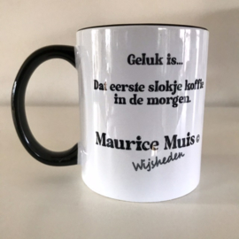 """Maurice Mouse © mok """"koffie, zwart"""""""