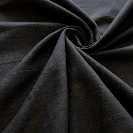 100% gewassen linnen - zwart