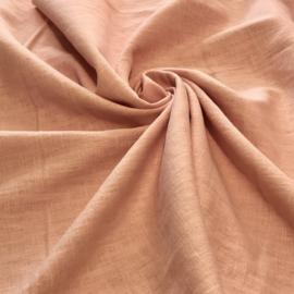 100% gewassen linnen - rose