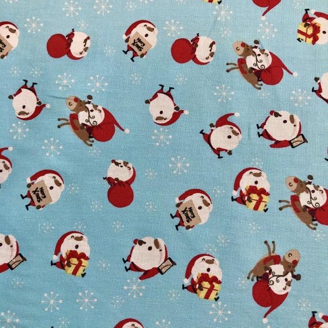 Santa lichtblauw