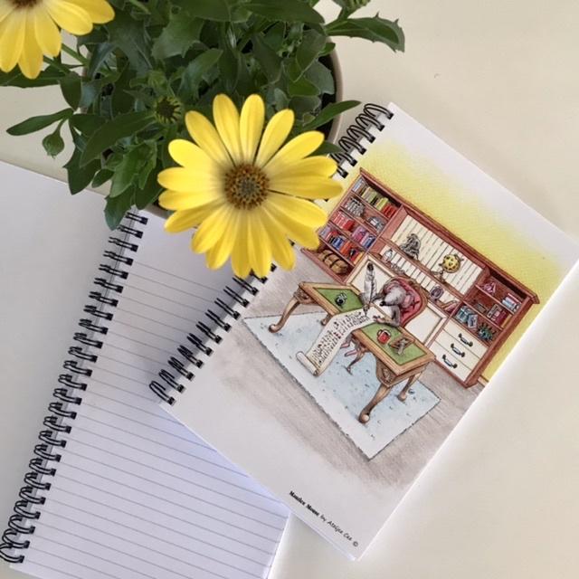 "Maurice Mouse © Notitieboekje ""love letter"""