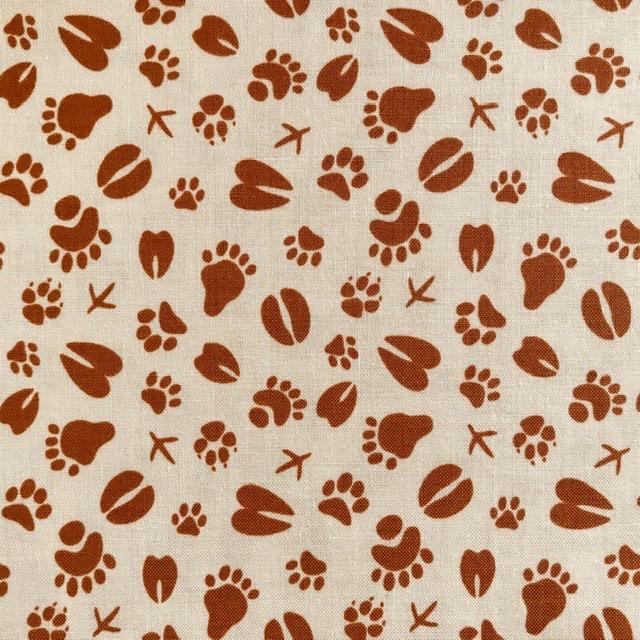 zacht katoen Happy Camper Footprints