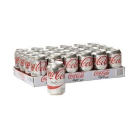 Coca-Cola Light Tray (24 blikjes)