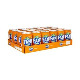Fanta Orange Tray (24 blikjes)