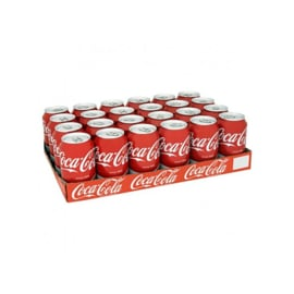 Coca-Cola Regular Tray (24 blikjes)