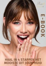 """Download het E-book """"Haal in 4 stappen het mooiste uit jouw huid"""""""