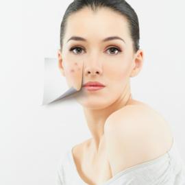 Reken af met pukkeltjes, puistjes, mee-eters, onzuiverheden en acne