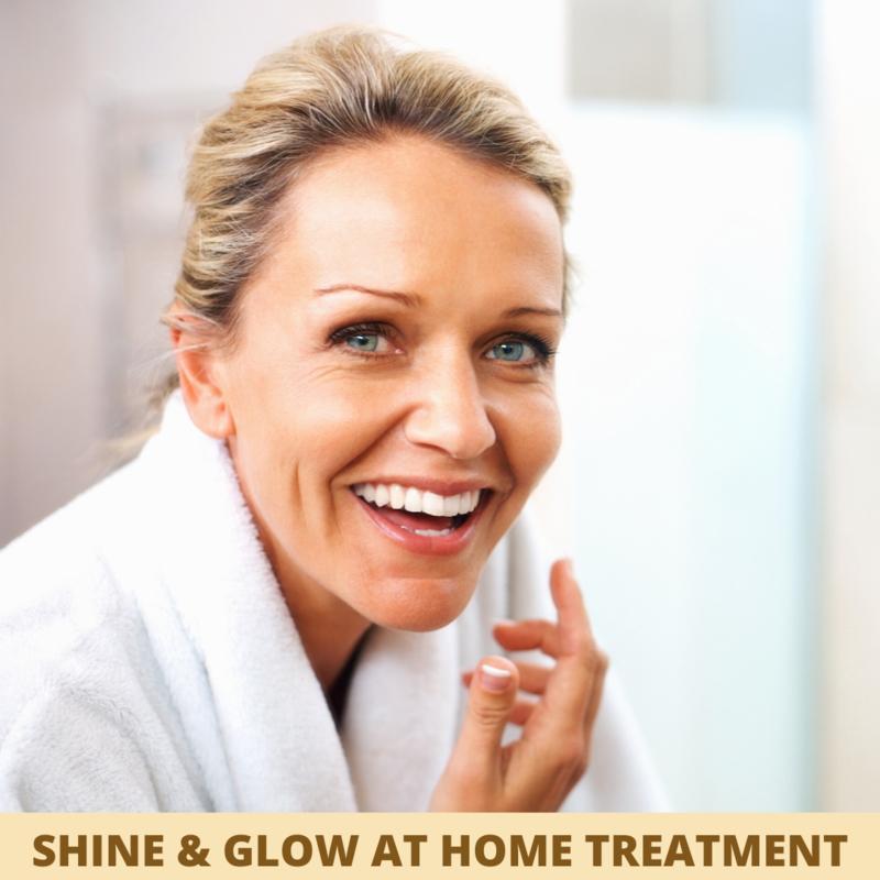 Shine & Glow at home treatment