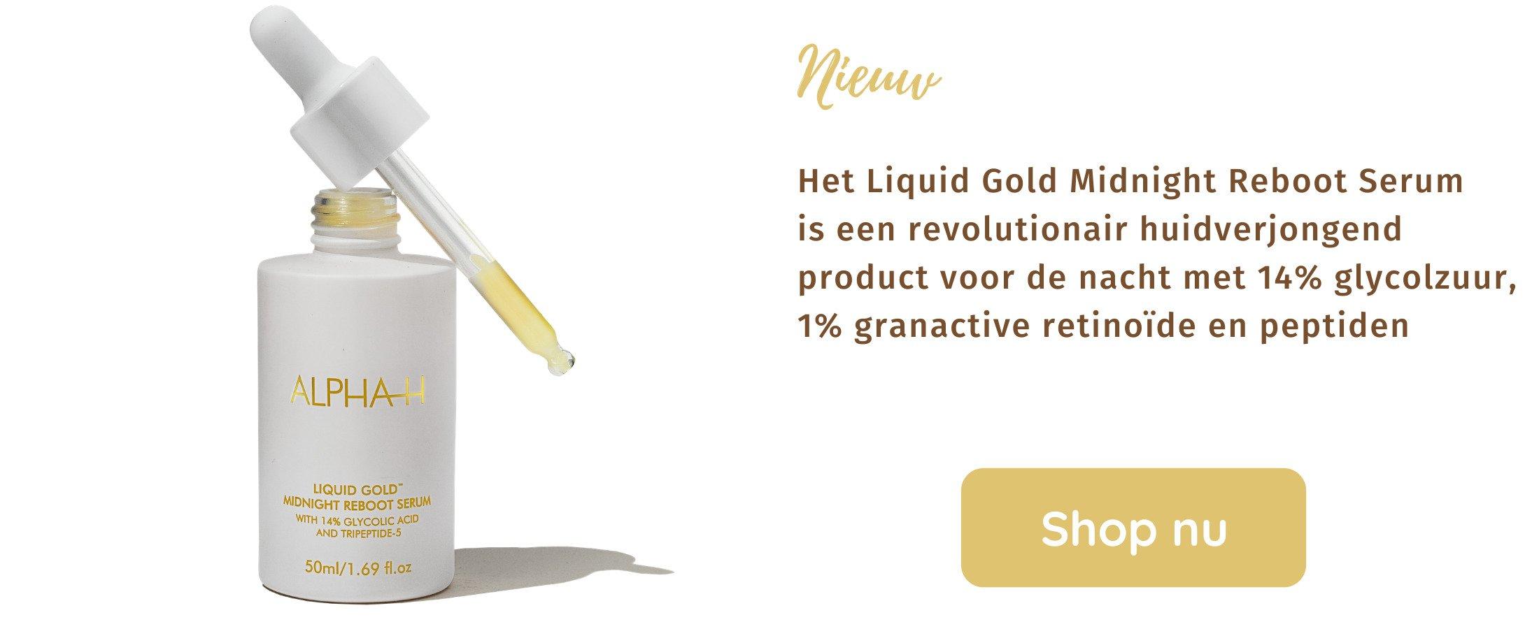 Liquid Gold Midnight Reboot Serum