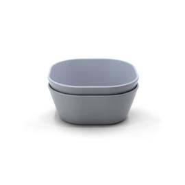 Mushie bowls - square cloud