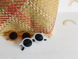 Zonnebril sunny beans - wit