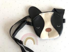 Handtas black puppy