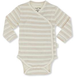 Konges Sløjd Newborn body - Vintage stripes