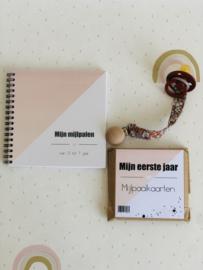 Fotoboek mijn mijlpalen - blush