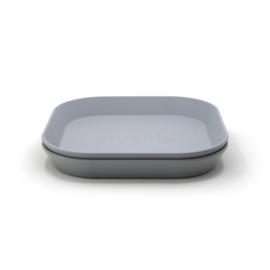 Mushie plates - square cloud