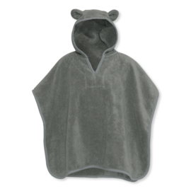 Konges Sløjd Terry Poncho - Storm grey