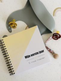 Invulboek mijn eerste jaar - geel