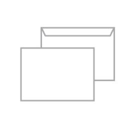 Envelop 229x162 mm - C5 - vanaf 500 ex. zonder binnendruk