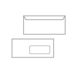 Envelop 229x114 mm - C5/6 - vanaf 500 ex. met binnendruk