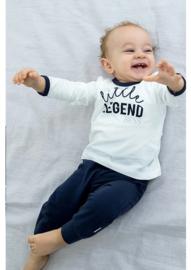 BESS Shirt LSL Little Legend White