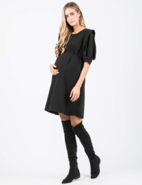 Attesa Dress Manico Petalo Black