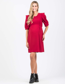 Attesa Dress Manico Petalo Red