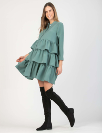 Attesa Dress Voulan Green