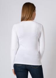 T-Shirt Long Sleeve White