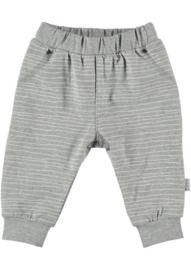 BESS Pants Pinstripe White