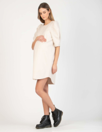 Attesa Dress Pm M Sbuffo White