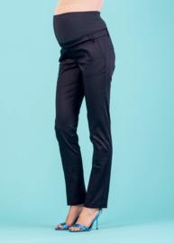 Attesa Trousers Filetti Maglia Navy