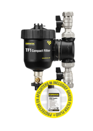 Fernox TF1 Compact Filter 3/4 & Filter Fluid + Protector 500ml