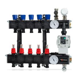 Composiet LTV inregelventielen/flowmeters 5 groeps