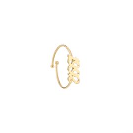 Ring - Jaartal Goud