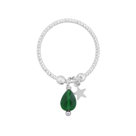 Ring - Star To The Bead Groen