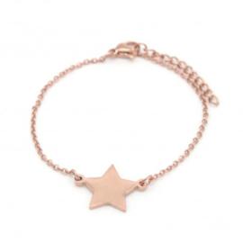 Armband - Big Star Rose