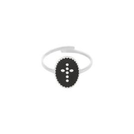 Ring - Dot Cross