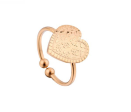 Ring - Leopard Hart